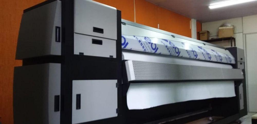 Impressora plotter solvente 3,20m Ultrajet 3212 Konica (semi-nova)