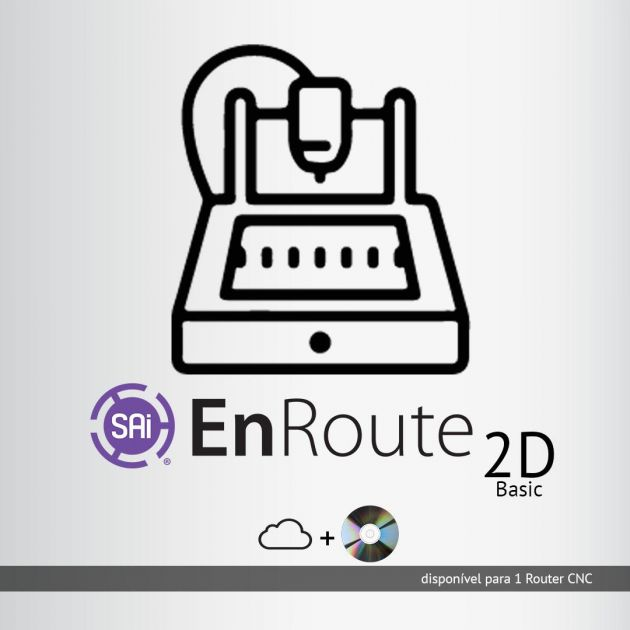 Software Rip SAi Enroute Basic 2D - para 1 router CNC