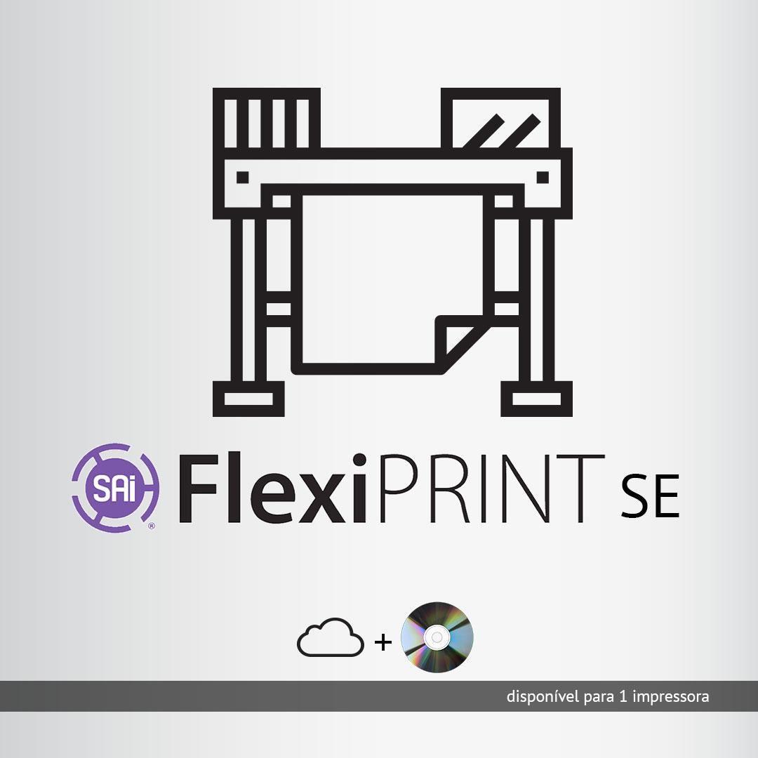 Software Rip Flexi Print SE Todas marcas p/ 1 impressora