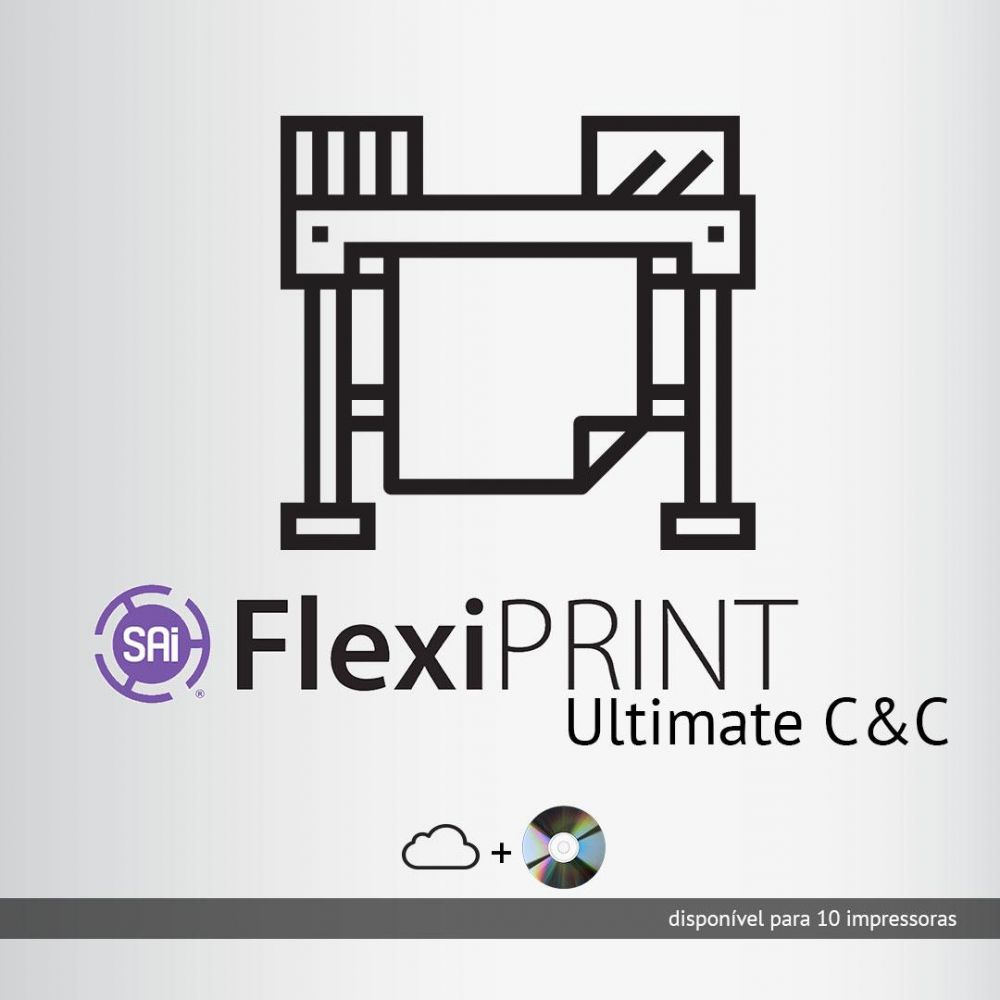 Software Rip Flexi Print Ultimate C&C p/ até 10 impressoras